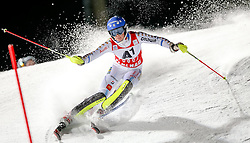 13-01-2015 AUT: Alpine Skiing World Cup, Flachau<br /> Frida Hansdotter of Sweden in action during 1st run of the ladie's Slalom of the FIS Ski Alpine World Cup at the Hermann Maier Weltcupstrecke in Flachau<br /> ***NETHERLANDS ONLY***