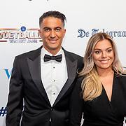 NLD/Hilversum/20190902 - Voetballer van het jaar gala 2019, Serdar Gözübüyü en partner