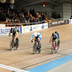 27-12-2019: Wielrennen: NK Baan: Alkmaar<br />Shanne Braspennicx pakt de titel op de keirin voor Steffie van der Peet en Lorena Wiebes