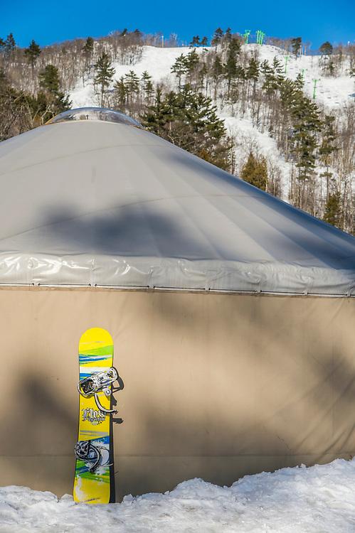 Mount Bohemia ski area in Michigan.