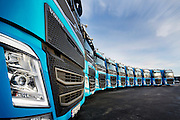RÅDE 2014-12-17: Overlevering av 10 Volvo FH til Postnord. FOTO:WERNERJUVIK