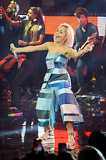 NOV 03 2014 Rita Ora switches on the Christmas lights at Westfield