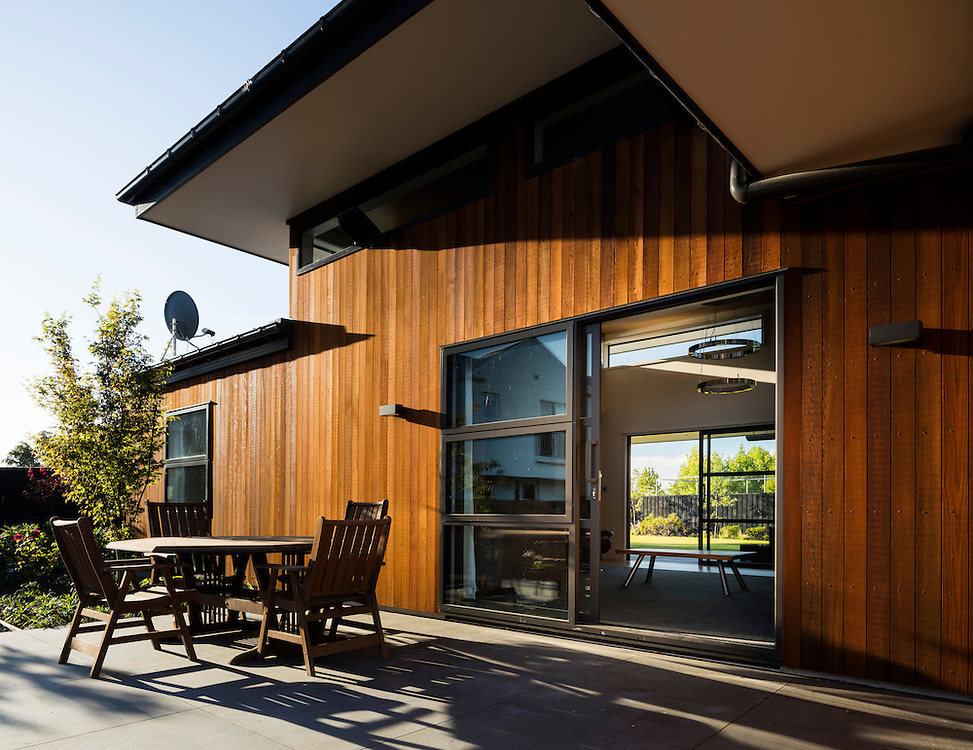 Residential house architecture, Christchurch, New Zealand.
