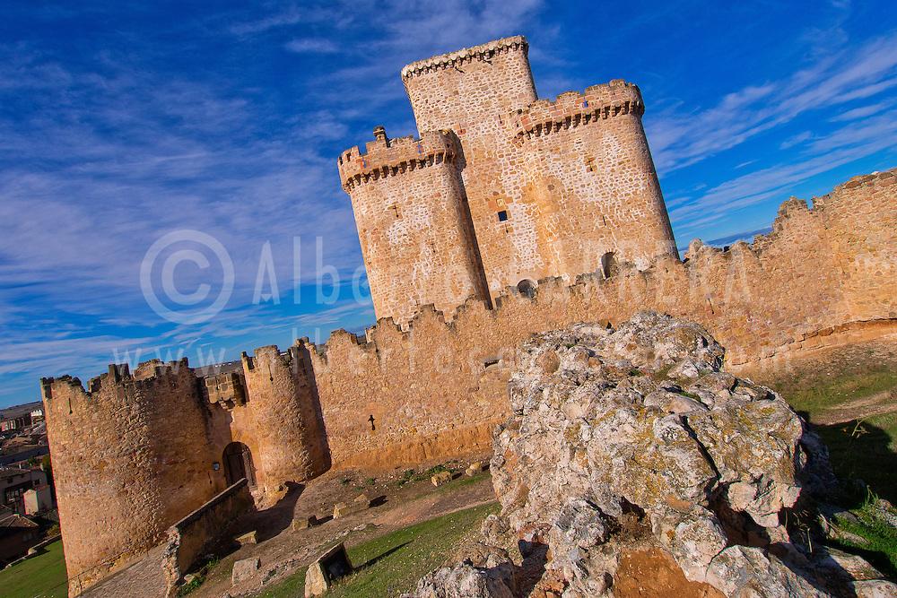 Alberto Carrera, Castle of Turégano,Turégano, Segovia, Castilla y León, Spain, Europe.
