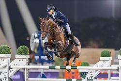 LYNCH Denis (IRL), Cristello<br /> Doha - CHI Al SHAQAB 2020<br /> - Stechen -<br /> Int. jumping competition with jump-off (1.55/1.60 m) - CSI5* <br /> 28. Februar 2020<br /> © www.sportfotos-lafrentz.de/Stefan Lafrentz