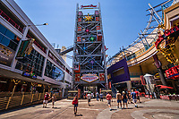 SlotZilla Zip Line Tower, Fremont Street Experience