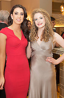 Repro free: At the Gorta Self Help Africa annual Ball at hotel Meyrick, Galway were Katie DonohueCorandulla and Jenny Madden Tuam Photo:Andrew Downes