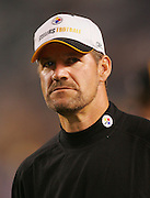 PITTSBURGH - SEPTEMBER 7:  Bill Cowher, head coach of the Pittsburgh Steelers, stalks the sidelines during the game against the Miami Dolphins at Heinz Field on September 7, 2006 in Pittsburgh, Pennsylvania. The Steelers defeated the Dolphins 28-17. ©Paul Anthony Spinelli *** Local Caption *** Bill Cowher