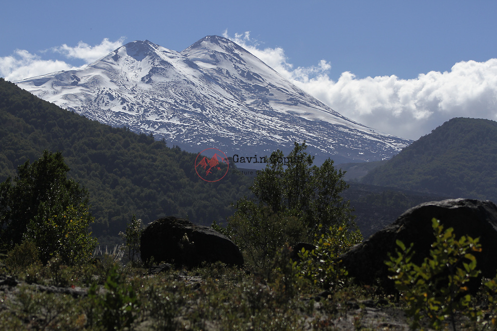 Volcano Llaima, Chile, Conguillío National Park