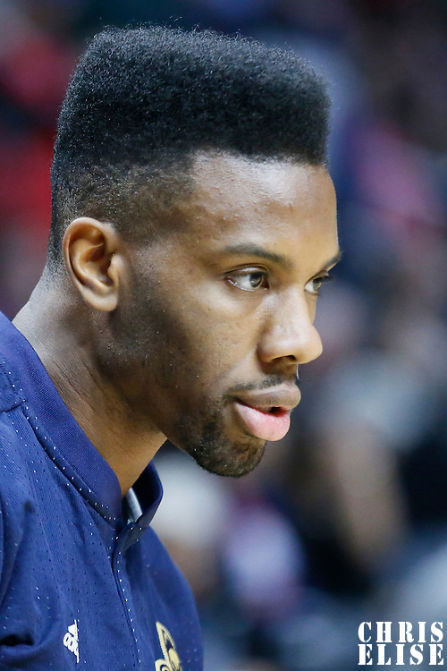 10 January 2016: New Orleans Pelicans guard Norris Cole (30) warms up prior to the Los Angeles Clippers 114-111 overtime victory over the New Orleans Pelicans, at the Staples Center, Los Angeles, California, USA.