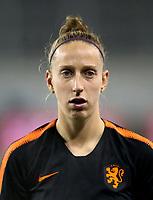 International Women's Fifa Play Off Matchs 2018 - 2 Leg / <br /> Switzerland v Netherlands 1-1 ( LIPO Park Stadium - Schaffhausen ,Switzerland ) - <br /> Sari Van Veenendaal of Netherlands