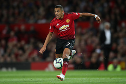 Manchester United's Alexis Sanchez during the Premier League match at Old Trafford, Manchester