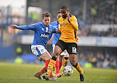 Portsmouth v Newport County 120316