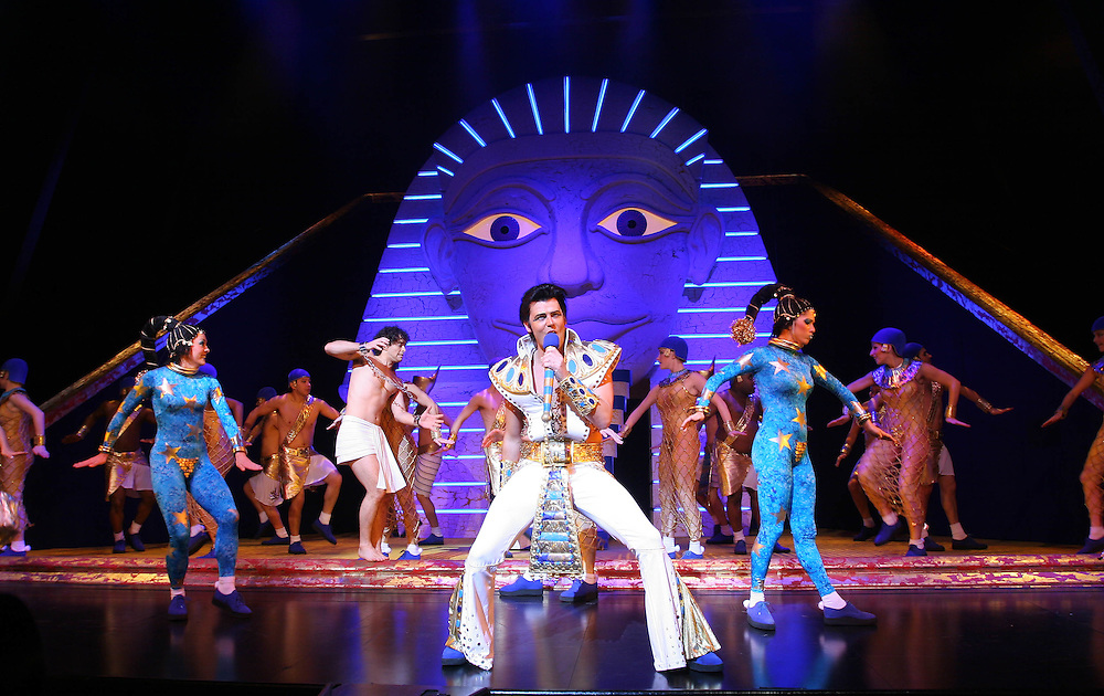 Joseph and The Amazing Technicolor Dreamcoat at The Adelphi Theatre in The Strand, London.