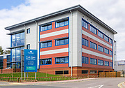 New office building Fred Olsen Cruise Lines company, Whitehouse industrial estate, Ipswich, England