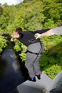 Highalnd Fling Bungee installation at Killiecrankie.