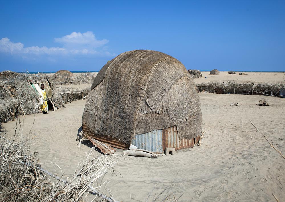 Aqal Soomaali, Somali Hut In The Lughaya Area Somaliland