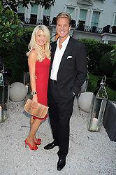 ROB HERSOV and DR KATIE JAMES at the Tatler Summer Party, The Hempel Hotel, 31-35 Craven Hill Gardens, London W2 on 25th June 2008.<br /><br />NON EXCLUSIVE - WORLD RIGHTS