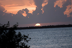 Overseas Highway Sunset in the Florida Keys