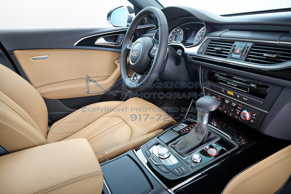 An Audi S With The Audi Exclusive Interior Package Photographed By - Audi s6 interior