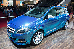 Mercedes Benz concept Classe B electric car at Paris Motor Show 2012