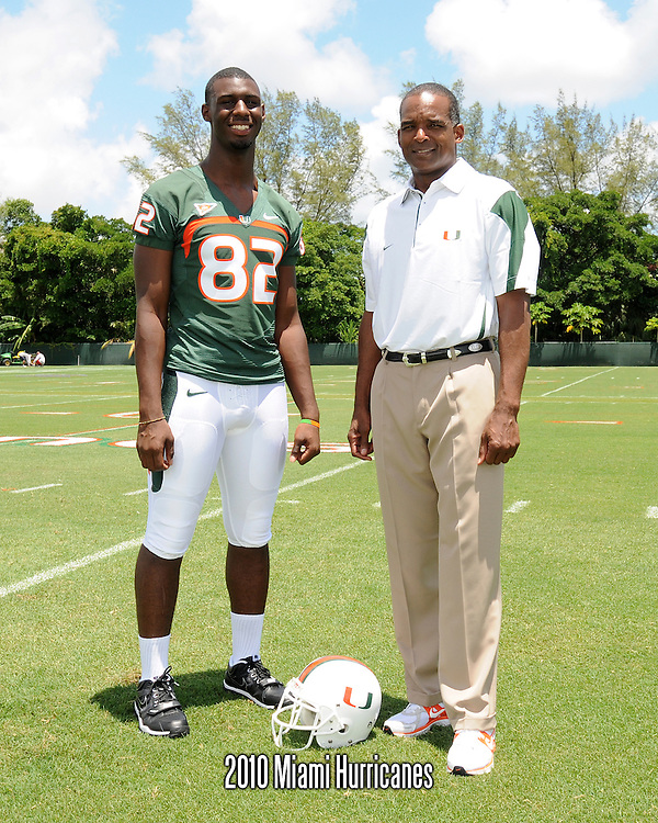 2010 Miami Hurricanes Football Photo Day