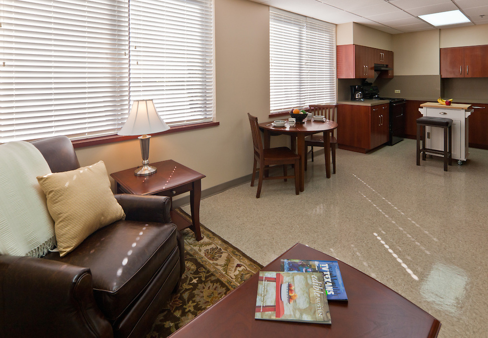 Activities of Daily Living suite at St. David's Rehabilitation Center