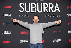 Paolo Calabresi at the Red Carpet of the series Suburra 2 at Circolo Degli Illuminati in Rome, Italy, 20 February 2019  (Credit Image: © Lucia Casone/Soevermedia via ZUMA Press)