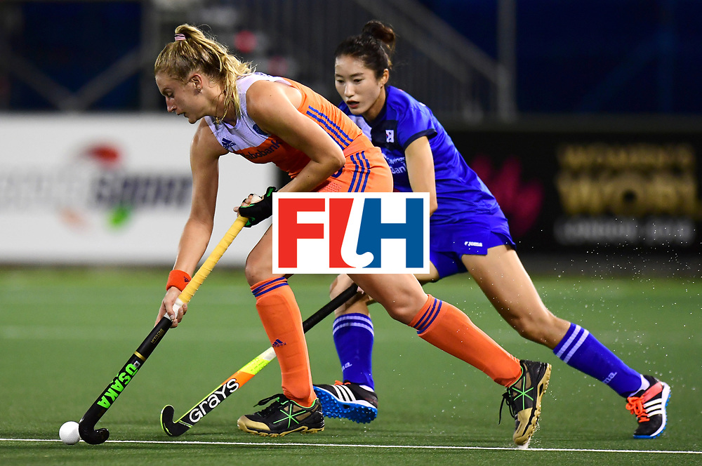 AUCKLAND - Sentinel Hockey World League final women<br /> Match id:10318<br /> 18 NED v KOR (Semi Final)<br /> Foto: Laurien Leurink <br /> WORLDSPORTPICS COPYRIGHT FRANK UIJLENBROEK