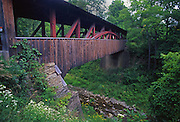Covered Bridge, near US Rt.# 6, Northcentral Pennsylvania, KNAPP'S, LUTHER MILLS BRIDGE