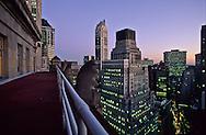 New York. elevated view on lower Manhattan wall street area  skyline  New York  Usa   /   le skyline de wall street ;Manhattan