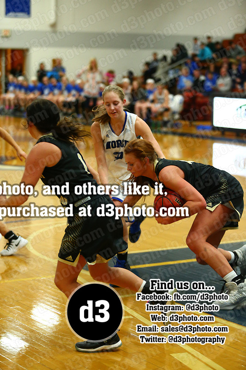 Luther College defeated Nebraska Wesleyan University 61-51 in IIAC women's basketball action in Deborah, Iowa on January 28, 2017.
