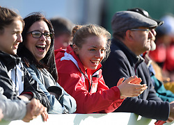 Spectators at the FA WSL 1 match between Bristol City Women and Liverpool Ladies at Stoke Gifford Stadium - Mandatory by-line: Paul Knight/JMP - 20/05/2017 - FOOTBALL - Stoke Gifford Stadium - Bristol, England - Bristol City Women v Liverpool Ladies - FA Women's Super League Spring Series