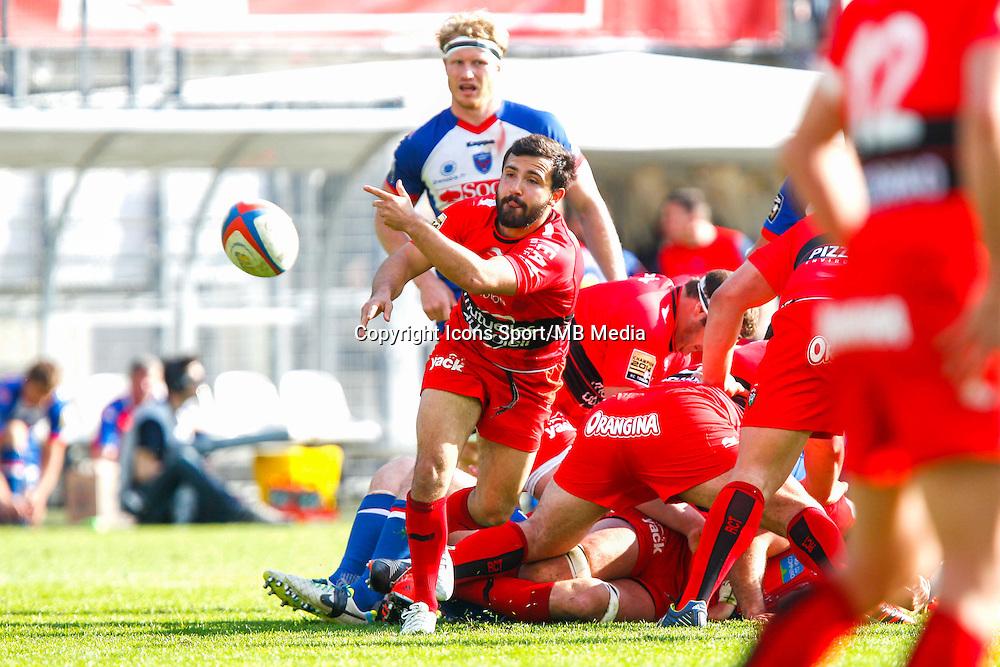 Eric ESCANDE  - 11.04.2015 - Grenoble / Toulon  - 22eme journee de Top 14 <br />Photo :  Jacques Robert / Icon Sport
