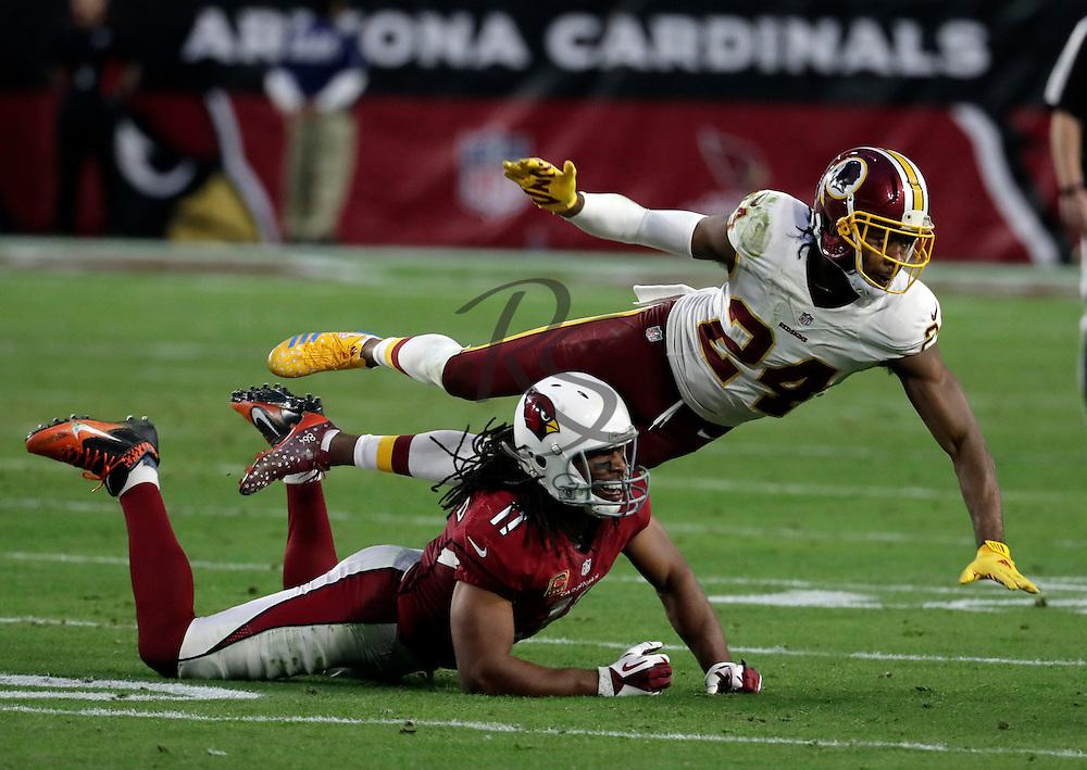Washington Redskins cornerback Josh Norman (24) during an NFL football game against the Arizona Cardinals, Sunday, Dec. 4, 2016, in Glendale, Ariz. (AP Photo/Rick Scuteri)