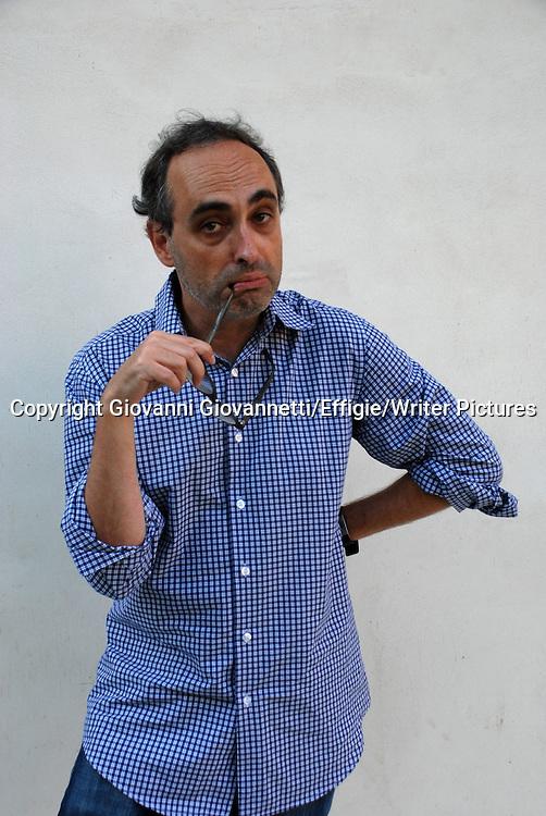 Gary Shteyngart, Festivaletteratura Mantova<br /> 06 September 2014<br /> <br /> Photograph by Giovanni Giovannetti/Effigie/Writer Pictures <br /> <br /> NO ITALY, NO AGENCY SALES
