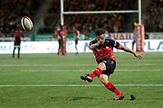 Benjamin Botica of Oyonnax during the French Championship Top 14 Rugby Union match between US Oyonnax Rugby and Lyon OU on April 28, 2018 at Charles Mathon stadium in Oyonnax, France - Photo Romain Biard / Isports / ProSportsImages / DPPI