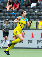 BRUSSEL - Kathryn Slattery (Aus.) during  the match   AUSTRALIA v SPAIN , Fintro Hockey World League Semi-Final (women) . COPYRIGHT KOEN SUYK