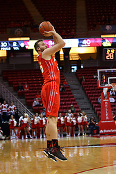 26 November 2016:  Andrew Meacham during an NCAA  mens basketball game between the Ferris State Bulldogs the Illinois State Redbirds in a non-conference game at Redbird Arena, Normal IL