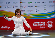 Chorzow, Poland - 2018 June 12: Performance of Artists with Down Syndrome from Szansa Institute while Closing Ceremony of National Special Olympics Games 2018 at Slaski Stadium on June 12, 2018 in Chorzow, Poland.<br /> <br /> Adam Nurkiewicz declares that he has no rights to the image of people at the photographs of his authorship.<br /> <br /> Picture also available in RAW (NEF) or TIFF format on special request.<br /> <br /> Any editorial, commercial or promotional use requires written permission from the author of image.<br /> <br /> Image can be used in the press when the method of use and the signature does not hurt people on the picture.<br /> <br /> Mandatory credit:<br /> Photo by © Adam Nurkiewicz / Mediasport
