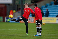 New loan signing George Saville of Bristol City warms up before the match - Photo mandatory by-line: Rogan Thomson/JMP - 07966 386802 - 17/01/2015 - SPORT - FOOTBALL - Scunthorpe, England - Glanford Park - Scunthorpe United v Bristol City - Sky Bet League 1.