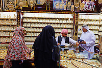 Emirats Arabes Unis, Dubai, quartier de Deira, souk de l or // United Arab Emirates, Dubai, Deira neighbourhood, golden suq