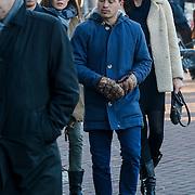 NLD/Amsterdam/20121208 - Herdenkingsdienst voor de verleden Jeroen Willems, Carice van Houten en Halina Reijn, Geza Weisz