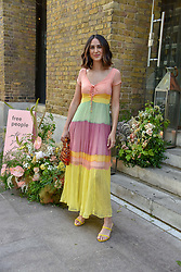 Soraya Bakhtier, Fashion Blogger and Influencer at a cocktail and dinner hosted by fashion label Free People at Free People 38-39 Duke of York Square, Chelsea, London England. 21 May 2019.