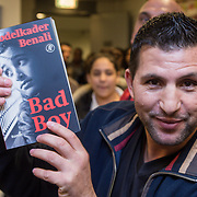 "NLD/Amsterdam/20131128 - Presentie boek ""Bad Boy"" van Abdelkader Benali, Mousid Akhamrane"