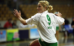 Nina Jericek of Olimpija at  handball game between women team RK Olimpija vs ZRK Brezice at 1st round of National Championship, on September 13, 2008, in Arena Tivoli, Ljubljana, Slovenija. Olimpija won 41:17. (Photo by Vid Ponikvar / Sportal Images)