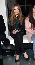 Girls Aloud singer Nicola Roberts at the Mark Fast show  at opening day of London Fashion Week for Autumn/Winter 2014 , Friday, 14th February 2014. Picture by Stephen Lock / i-Images