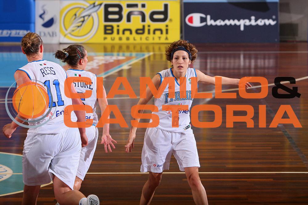 DESCRIZIONE : Cagliari Qualificazione Eurobasket Women 2009 Italia Finladia <br /> GIOCATORE : Simona Ballardini <br /> SQUADRA : Nazionale Italia Donne <br /> EVENTO : Raduno Collegiale Nazionale Femminile<br /> GARA : Italia Finlandia Italy Finland <br /> DATA : 16/08/2008 <br /> CATEGORIA : Esultanza <br /> SPORT : Pallacanestro <br /> AUTORE : Agenzia Ciamillo-Castoria/S.Silvestri <br /> Galleria : Fip Nazionali 2008 <br /> Fotonotizia : Cagliari Qualificazione Eurobasket Women 2009 Italia Finladia <br /> Predefinita :