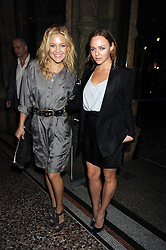 Left to right, actress KATE HUDSON and STELLA MCCARTNEY at British Style Observed - part of National Magazine's 30 Days of Fashion & Beauty festival featuring photographs by Mary McCartney with proceeds from the evening going to Macmillan Cancer Care held at the Natural History Museum, Cromwell Road, London on 16th September 2008.