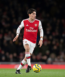 LONDON, ENGLAND - Thursday, December 5, 2019: Arsenal's Héctor Bellerín during the FA Premier League match between Arsenal FC and Brighton & Hove Albion FC at the Emirates Stadium. (Pic by Vegard Grott/Propaganda)
